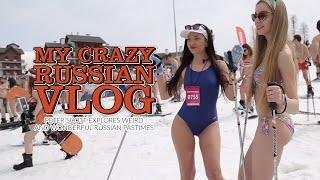 getlinkyoutube.com-My Crazy Russian Vlog: Weird & Wonderful Siberian Pastimes (RT Documentary)