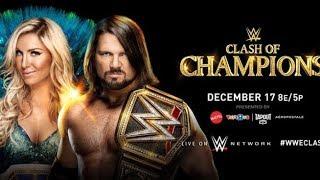 WWE CLASH OF CHAMPION | 17 December 2017 | wwe universe |full show | Higlight|