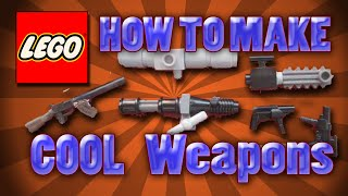 getlinkyoutube.com-How To Make Cool Lego Weapons Part 2