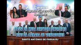 A Câmara e Você-Posse Pedro Cortes presidente