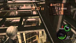 getlinkyoutube.com-Duo Missile Area : 986,029 (Wesker S.T.A.R.S./Jill Battle suit)