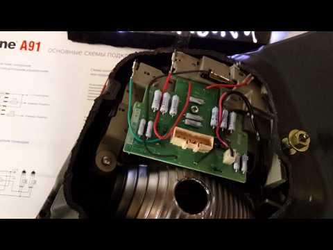 Ремонт задней фары Lexus Gs300 ч2: первичный осмотр платы