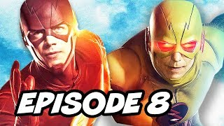 getlinkyoutube.com-Legends Of Tomorrow Season 2 Episode 8 The Flash vs Reverse Flash TOP 10 and Easter Eggs