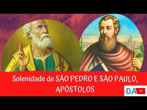 Solenidade dos apóstolos São pedro e São Paulo