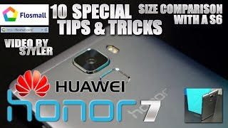 getlinkyoutube.com-Huawei Honor 7 (10 Tips & Tricks) Bonus video / Size comparison / Google Cardboard App Test