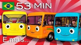 As Rodas do Ônibus   E muitas mais Canções de Ninar   Compilação com 53 minutos da LittleBabyBum!