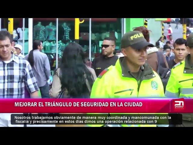 MEJORAR EL TRIÁNGULO DE SEGURIDAD EN LA CIUDAD
