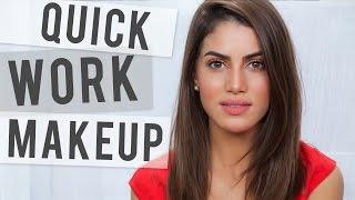 getlinkyoutube.com-Fast Work Makeup