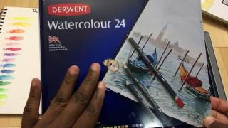 getlinkyoutube.com-Derwent Watercolour Pencils review.