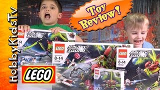getlinkyoutube.com-Lego Galaxy Squad Bug Bonanza! Box Open, Review + Play 70700 by HobbyKidsTV
