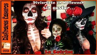 getlinkyoutube.com-Disfraces Caseros-La Catrina (Sugar Skull)- Sin gastar