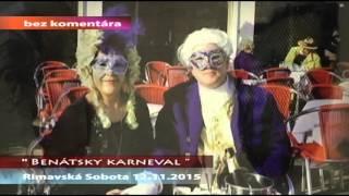 Benátsky karneval Rimavská Sobota 2015
