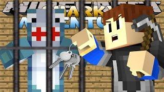 getlinkyoutube.com-Minecraft Adventures - Sharky & Scuba Steve - SHARKY GOES MISSING