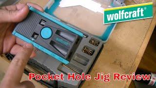 getlinkyoutube.com-Wolfcraft Undercover Jig - cheaper version of a pocket hole jig.