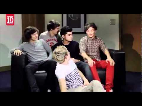 One Direction - Funniest moments from the new video diary's week 1,2&3