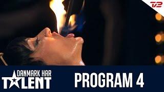 Ildslugeren Alice Oppelstrup - Danmark har talent Program 4