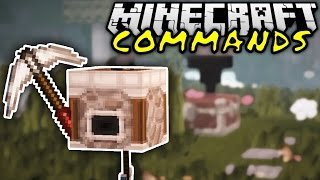 getlinkyoutube.com-MINING TURTLE COMMAND IN VANILLA! | Minecraft Commands #13 | ConCrafter
