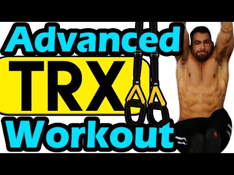 Advanced TRX Workout Routine for WEIGHT LOSS at Home Suspension Training Exercises men women core ab