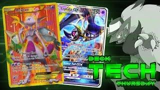 getlinkyoutube.com-Pokémon TCG Deck Profile - Mewtwo EX/Lunala GX!   Deck Tech Thursday #42