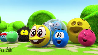 SQUISHY Balls Vs Funny Cartoons Creative Kids Shows Children WonderBalls Official