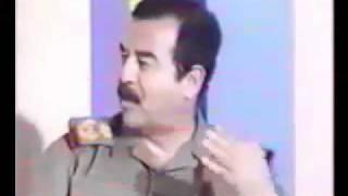getlinkyoutube.com-صدام حسين يعيب الحكام العرب   ويهدد اسرائيل
