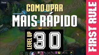 Como upar mais rápido - League of Legends