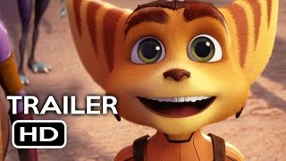 getlinkyoutube.com-Ratchet and Clank Official Trailer #1 (2016) Bella Thorne, Sylvester Stallone Animated Movie HD