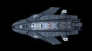 Elite: Dangerous - Bounty-Hunting in the Federal Assault Ship