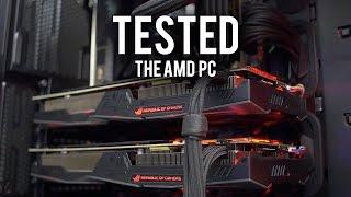 getlinkyoutube.com-Benchmarking The AMD PC! Did it Explode? Part 2