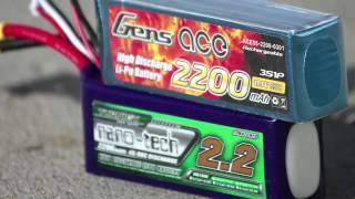getlinkyoutube.com-LIPO Battery Testing: Turnigy Vs. Gens Ace