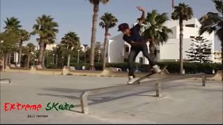 getlinkyoutube.com-Skate boarding in Safi City Morocco Pro trip part 1