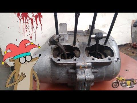 Пацанский ремонт движка или как не надо делать