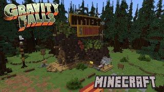 getlinkyoutube.com-Mystery Shack Minecraft Tutorial [Gravity Falls]