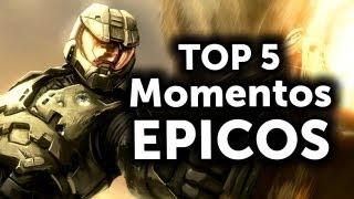 getlinkyoutube.com-Top 5 - Momentos Épicos en juegos