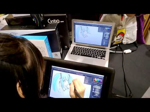 AFA Sinapore day 3: inside expo - how to draw manga course