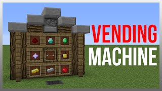 getlinkyoutube.com-Minecraft 1.11: Redstone Tutorial - Vending Machine V2 (60fps)