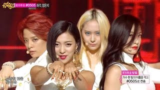 getlinkyoutube.com-【TVPP】f(x) - Red Light (White ver.), 에프엑스 - 레드 라이트 @ Show! Music Core Live