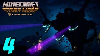 getlinkyoutube.com-El Wither Gigante!! - MINECRAFT STORY MODE - Episodio 1 (parte 4)