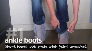 getlinkyoutube.com-GL Style File: How to wear boots with bootcut jeans