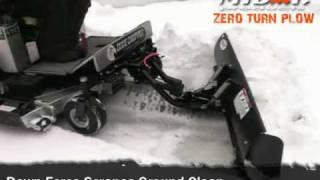 getlinkyoutube.com-ZTR snow plow for any zero turn mower by Mibar Products