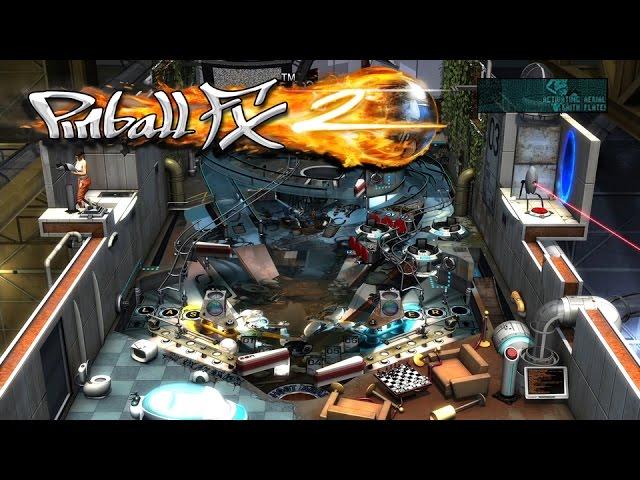 Portal Pinball Gameplay
