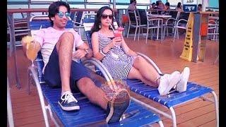 getlinkyoutube.com-Sanaya Irani-Mohit Sehgal's cruise masti will make other jealous