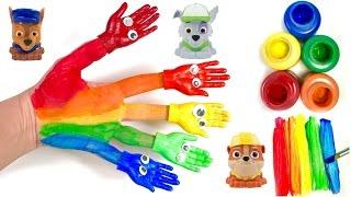 Family Finger Nursery Rhyme Song Paw Patrol