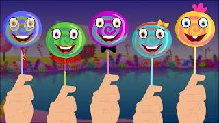 getlinkyoutube.com-Finger Family- Lollipop
