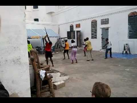 JHU Ghana Intersession dance