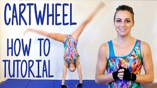 getlinkyoutube.com-Cartwheel Tutorial! Gymnastics Workout At Home, Flexibility Stretches, Exercise Routine