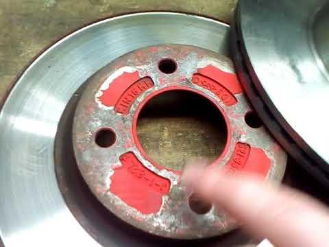 Замена тормозных дисков передних на Chery Jaggi