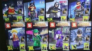 getlinkyoutube.com-LEGO DC SuperHeroes Batman 2 Sheng Yuan Bootleg Review