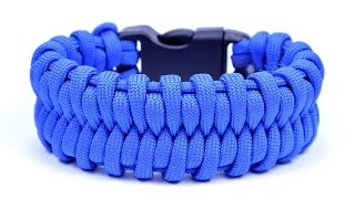 getlinkyoutube.com-Learn how to make the Fishtail Belly Paracord Bracelet - Bored? Paracord!