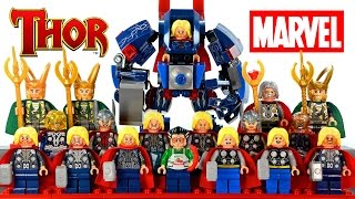 getlinkyoutube.com-My LEGO Thor™ Marvel Super Heroes 2016 Complete Minifigure Collection